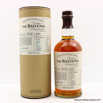 Balvenie Tun 1401 Batch #9 75cl