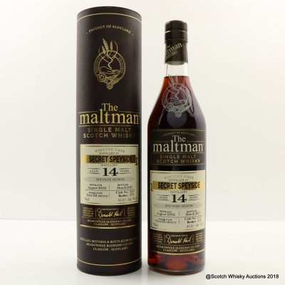 Secret Speyside 2002 14 Year Old The Maltman