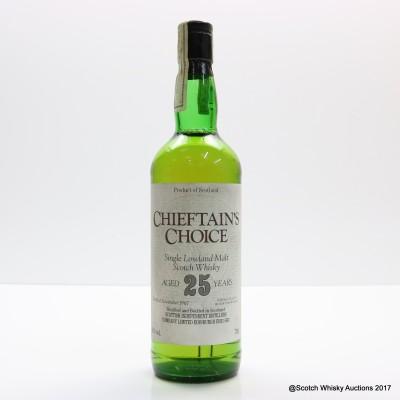 Chieftain's Choice 1967 25 Year Old Lowland Single Malt