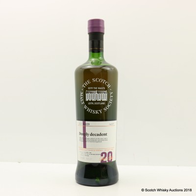 SMWS 9.123 Glen Grant 1996 20 Year Old