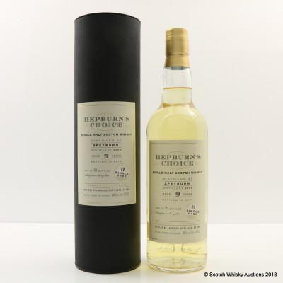 Speyburn 2004 9 Year Old Hepburn's Choice