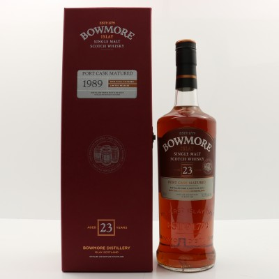 Bowmore 1989 23 Year Old Port Cask 75cl