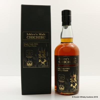 Chichibu Ichiro's Malt 2009 Single Cask #1921 Whiskey House World Exclusive