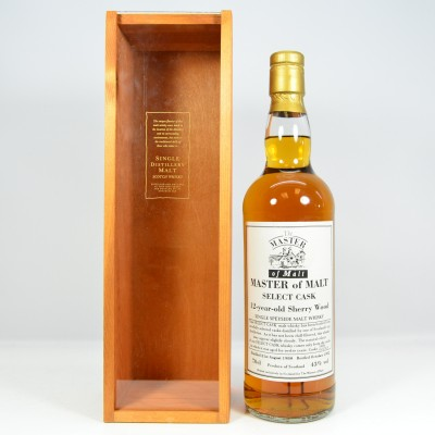 Master of Malt 1980 12 Year Old Sherry Wood