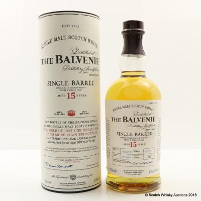Balvenie 1997 15 Year Old Single Barrel