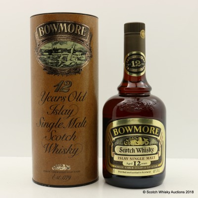 Bowmore 12 Year Old Dumpy Bottle 75cl