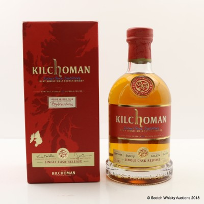 Kilchoman 2006 Single Sherry Cask Release For Royal Mile Whiskies