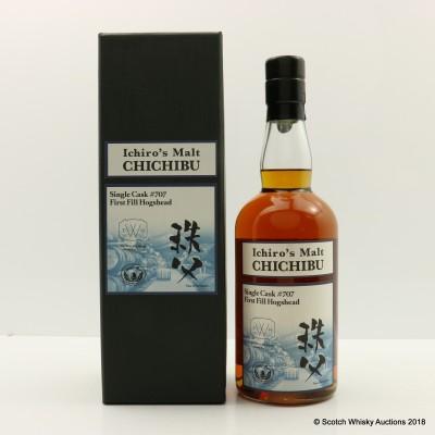 Chichibu Ichiro's Malt 2010 Single Cask #707 The Whiskey House World Exclusive