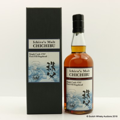 Chichibu Ichiro's Malt 2010 Single Cask #707 The Whiskey House World Exclusive