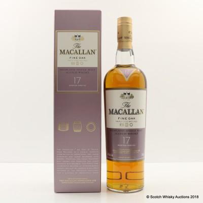 Macallan 17 Year Old Fine Oak 75cl