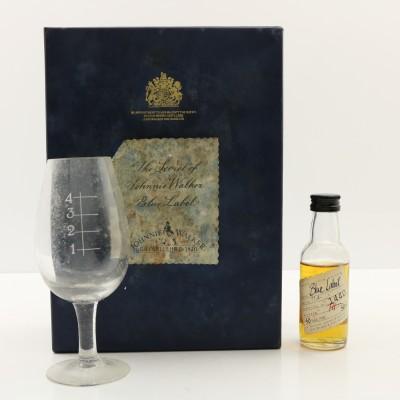 Johnnie Walker The Secret Of Blue Label Mini 5cl & Glass