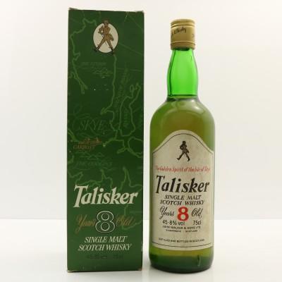 Talisker 8 Year Old John Walker Label 75cl