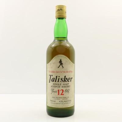 Talisker 12 Year Old John Walker Label 75cl