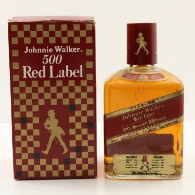 Johnnie Walker Red Label 500 50cl