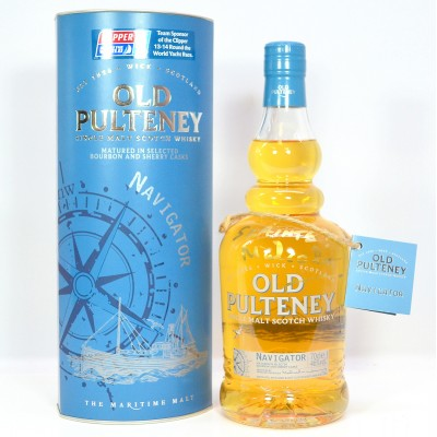Old Pulteney Navigator Signed by Distillery Manager