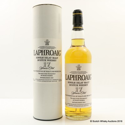 Laphroaig Feis Ile 2004 1987 17 Year Old