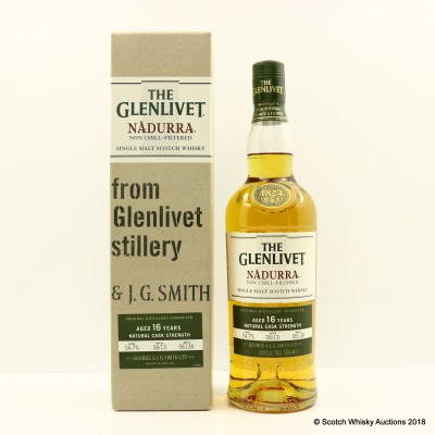 Glenlivet 16 Year Old Nadurra Cask Strength