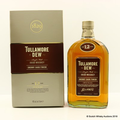 Tullamore D.E.W. 12 Year Old Sherry Finish 1L