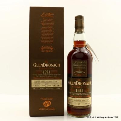 GlenDronach 1991 21 Year Old Single Cask #5409