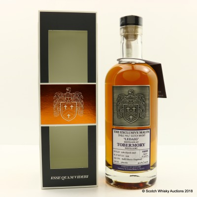 Ledaig 1996 21 Year Old Creative Whisky Co