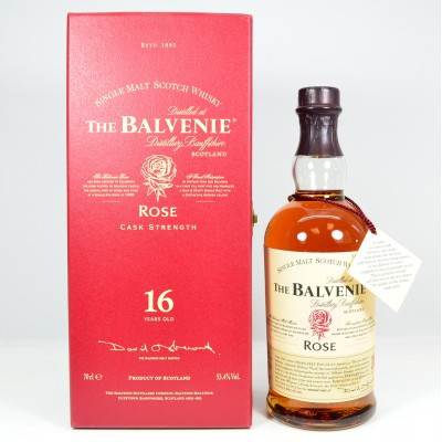 Balvenie Rose 16 Year Old 1st Release