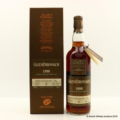 GlenDronach 1990 27 Year Old Single Cask #7005