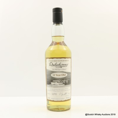 Manager's Dram Dalwhinnie 12 Year Old