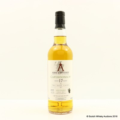 Caperdonich 1995 17 Year Old Abbey Whisky