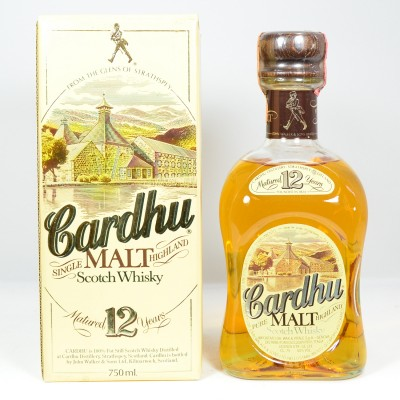 Cardhu 12 Year Old 75cl