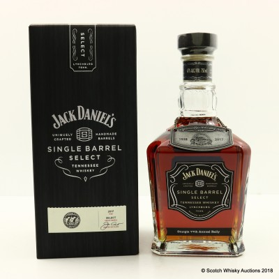 Jack Daniel's Single Barrel For Sturgis 77th Motorcycle Rally 75cl