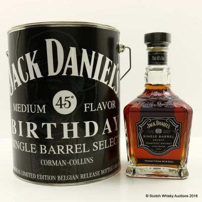 Jack Daniel's Single Barrel Corman Collins in Paint Can