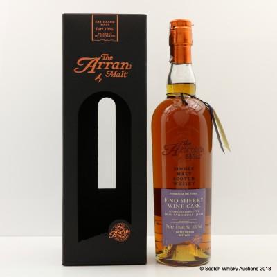 Arran 2007 Fino Sherry Finish Limited Edition