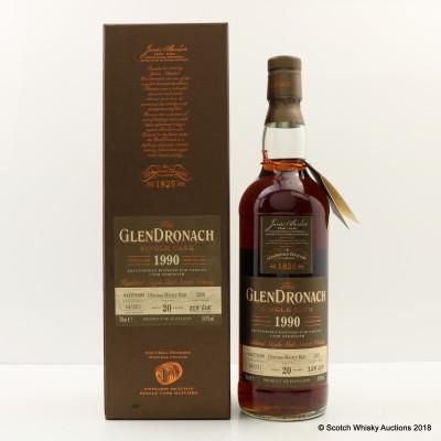 GlenDronach 1990 20 Year Old Single Cask #2268