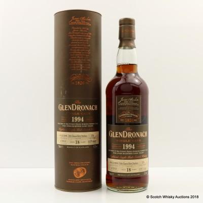 GlenDronach 1994 18 Year Old Single Cask #278