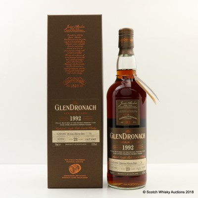 GlenDronach 1992 23 Year Old Single Cask #76