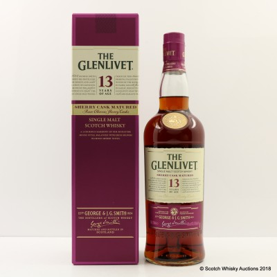 Glenlivet 13 Year Old Sherry Cask Matured