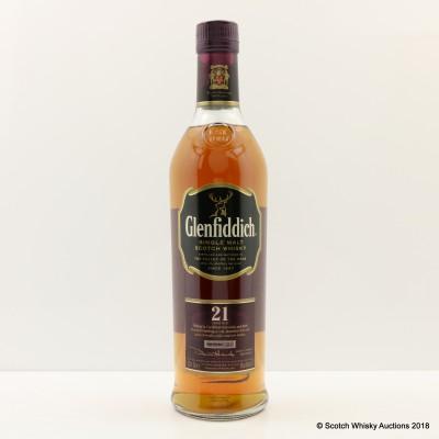 Glenfiddich 21 Year Old Caribbean Cask