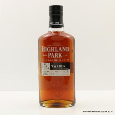 Highland Park 2002 14 Year Old For Sweden Single Cask #2121