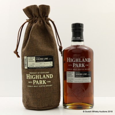 Highland Park 2002 14 Year Old Viking Line Single Cask #3429