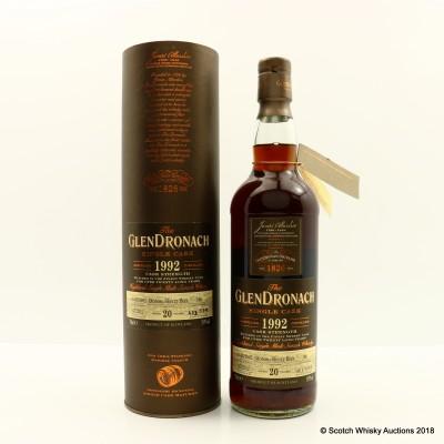 GlenDronach 1992 20 Year Old Single Cask #186