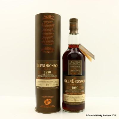 GlenDronach 1990 22 Year Old Single Cask #2965