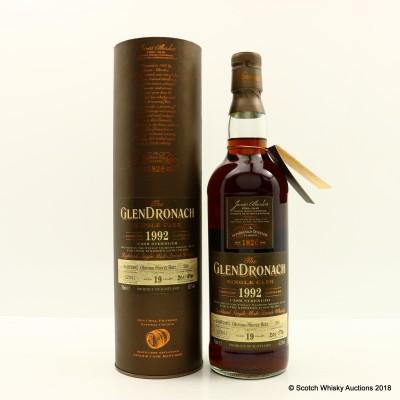 GlenDronach 1992 19 Year Old Single Cask #200