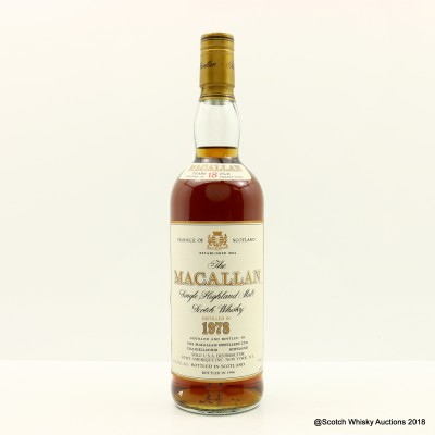 Macallan 18 Year Old 1978 75cl