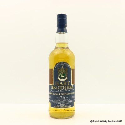 Inchgower 1976 26 Year Old Hart Brothers 75cl