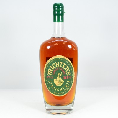 Michter's Straight Rye 10 Year Old 75cl