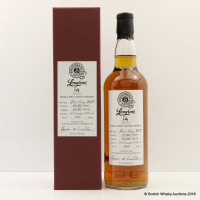 Longrow 2001 14 Year Old Society Bottling
