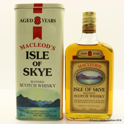 Macleod's 8 Year Old Isle Of Skye