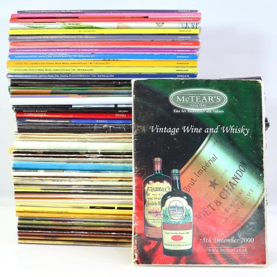 Assorted Whisky Auction Catalogues