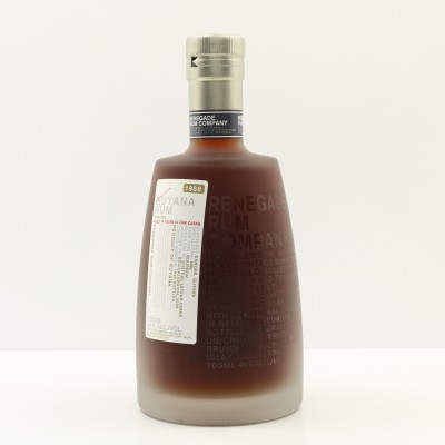 Enmore 1988 19 Year Old Guyana Renegade Rum Company