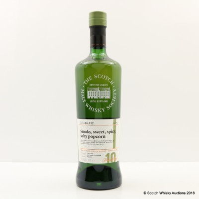 SMWS 66.112 Ardmore 2007 10 Year Old